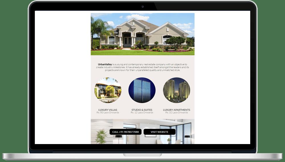 Real Estate HTML Mailer