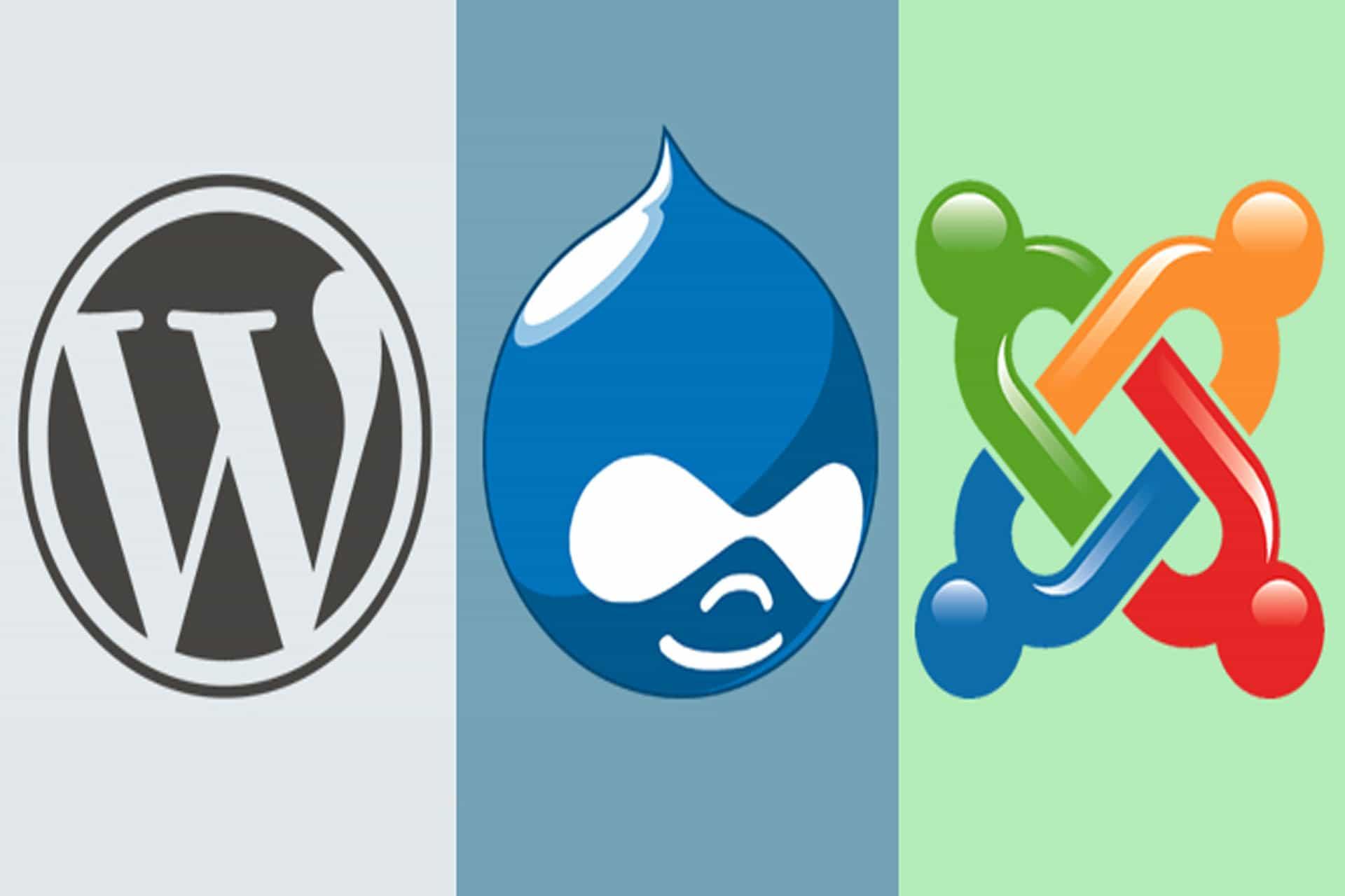 Best Content Management System (CMS) 2017 - WordPress Vs Joomla Vs Drupal