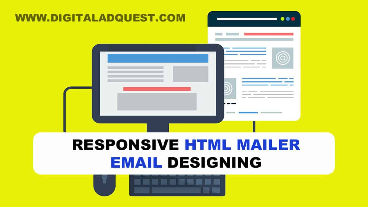 HTML Mailer Email Designing Services in Delhi, India