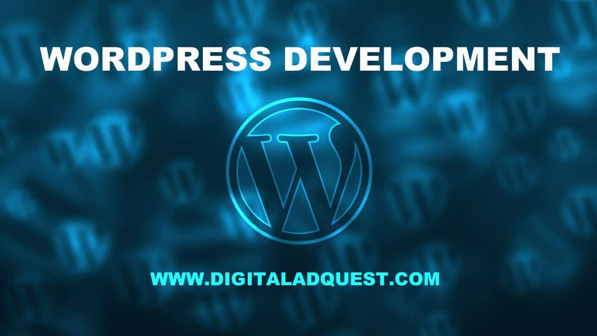 WordPress Development Company In Delhi India