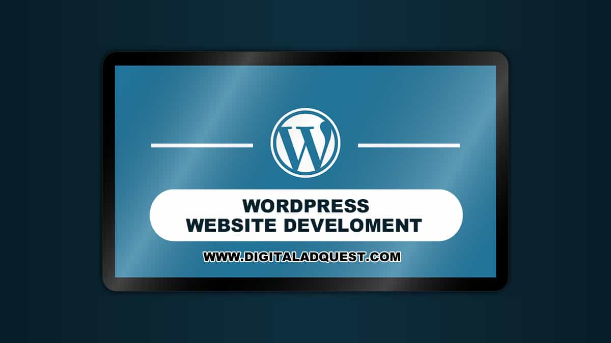 WordPress Website Development In Delhi India