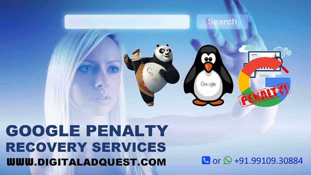 Google Penalty Recovery Services In Delhi India